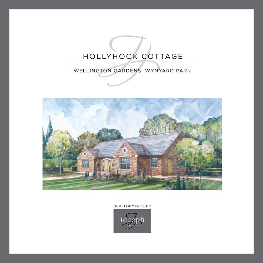 The Hollyhock Cottage brochure cover
